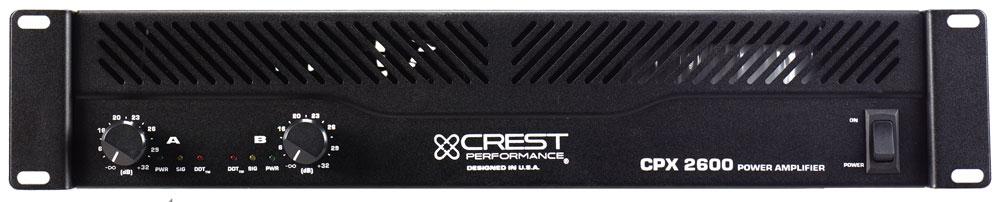 crest audio cpx2600