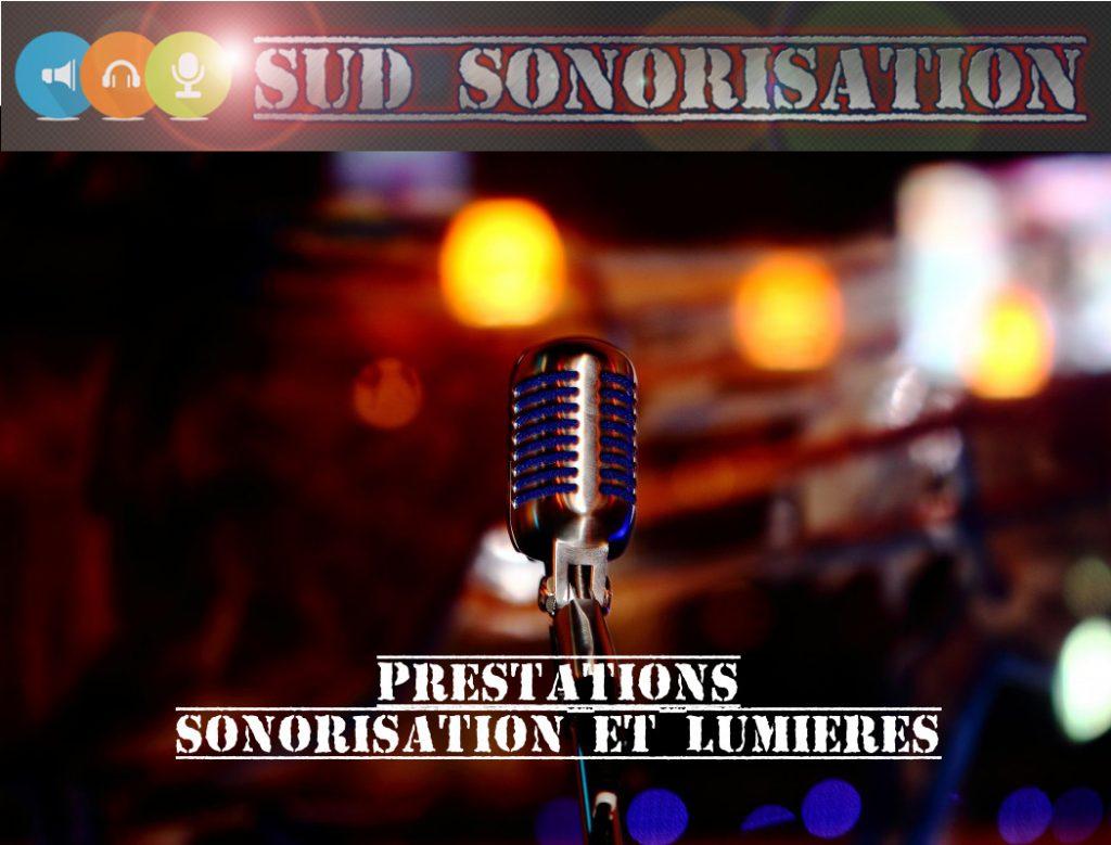 Prestation sonorisation, Eclairage, Régie
