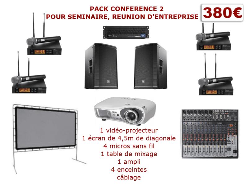 Permalink to:Pack conférence 2 pour séminaire, réunion d'entreprise …
