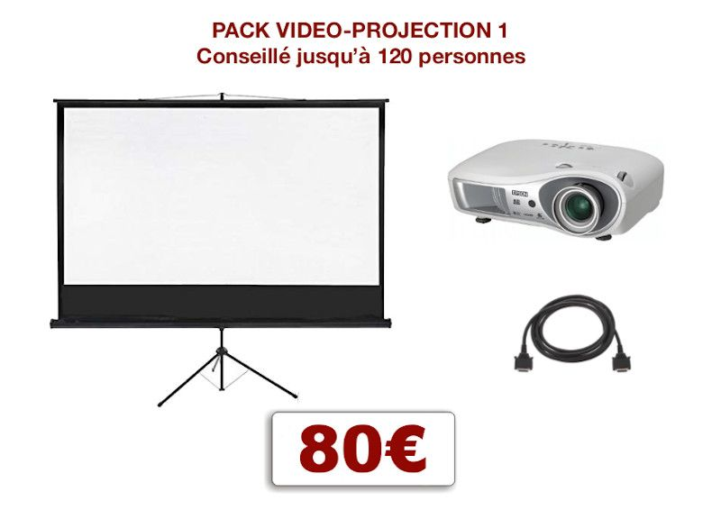 Permalink to:Pack vidéoprojection 1, conférence, mariage, scolaire