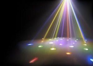 eclairage pour mariage, soirée dansante